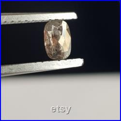 0.45CTwith5.2mm Clear Black Salt And Pepper Cushion Shaped Rose Cut Loose Diamond, Faceted Rose Cut Diamond Loose Ring, DDS739 14