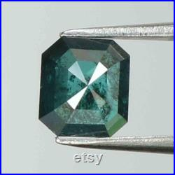 0.57 Ct Natural Loose Diamond Radiant Blue Color I3 Clarity 5.50 MM L8234
