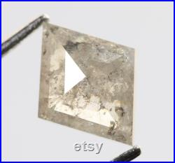 0.64 Ct, 7.7 X 5.9 X 2.3 MM, Kite Shape Grey Color Natural Loose Beautiful Diamond, Sparkling Diamond, Use For Engagement Jewelry, R1369