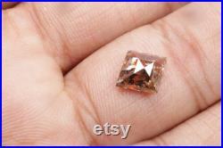1.37 CT 9.9 X 8.7 MM Salt and pepper Kite Shape Diamond, Natural loose Kite cut diamond, Fancy Brown color Kite shape Diamond ring R8175