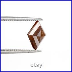 1.80 CT Kite shape reddish Color fancy loose diamond, Kite cut rustic diamond loose, Kite Shape Diamond Polished Diamond for kite ring