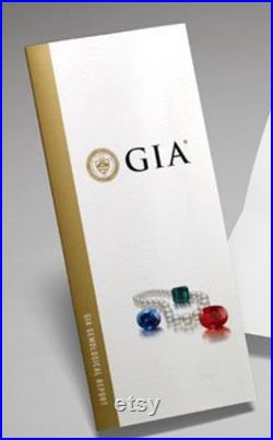 1 GIA Colored Stone Identification Report Turnaround Time approx. 4- 6 weeks- for ONE GEMSTONE Non-Refundable