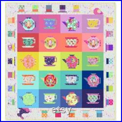 1 PREORDER Mad Hatter's Tea Party Quilt by Tula Pink
