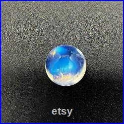 100 Natural Blue Moonstone Cabochon 10.75ct Round 13X8.50mm Moonstone Gemstone Eye Clean Moonstone Handmade Gemstone Moonstone