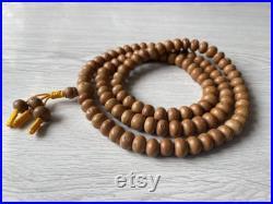 108 bodhi seed mala 11-12mm natural white Tyre traditionally Natural bodhi meditationbuddha