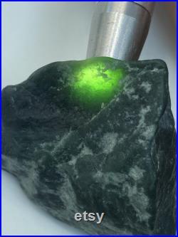2 Pieces of Black Emerald Guatemalan Jadeite