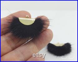 20 Wholesale 100 pcs Fur Fan