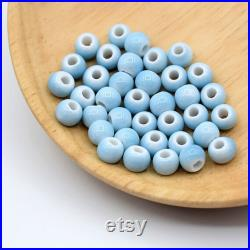 2000pcs 6mm Colorful Ceramic Beads,Used for Making Bracelets and Necklaces and Crafts Making Beads,Earrings and Colorful Loose Bead Pendants