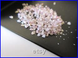 5 CTW Natural Pink Fine Quality Uncut Diamond Dust, Natural Raw Rough Diamond Chips For Making Jewelry DD7
