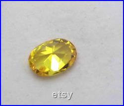 9.70Ct Certified Natural Amazing Quality Original Cambodian Yellow Zircon Gemstone EU1384