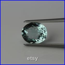 Aquamarine ,oval cut ,tcw-3.05 ct,natural blue aquamarine,oval aquamarine ring,aqua silver ring