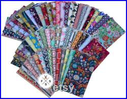 Art Gallery 60 Piece FAT QUARTER Bundle, Stash Builder, Precut Cotton Quilting Fabric, FQ-AG60