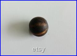 Authentic Ancient Pumtek Dark 6 Stripe Round Bead 12mm Diameter Pyu Beads P8