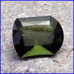 Bohemian Moldavite Chlum Czech Republic 5.88 Ct Natural Untreated Gem, For Top Jewelry