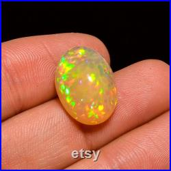 Ethiopian opal,Walo opal cabochons, Ethiopian Opal Oval Shape Cabochon Loose Gemstone For Making Jewelry 8 Ct. 17X12X7 mm Y-869