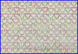 Exclusive Liberty Tana Lawn MAISIE floral heart print 10 metres limited edition
