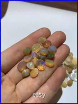 Faceted ETHIOPIAN OPAL Range 1-3 carats each stone 10 Carat Lot High Flash