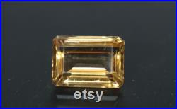 Golden Citrine Emerald Cut 22x16mm 29.15ct