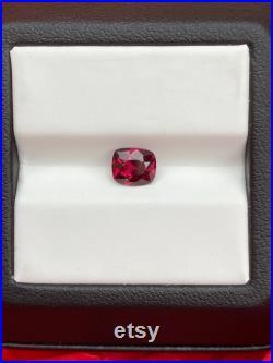 Gorgeous 1.50ct Pinkish Red Garnet Gemstone, Loose Garnet gemstone, Garnet for Pendant Ring, January Birthstone, Natural Garnet Gemstone