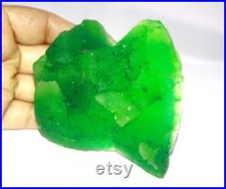 Great Deal 1600.00 Ct Certified Natural Excellence Quality Earth Mined Uncut Shape Colombian Green Emerald Gemstone Rough VM1354