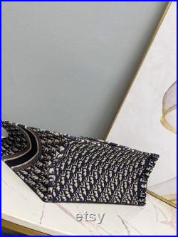 Handmade Lisa Design DIOR Book Tote