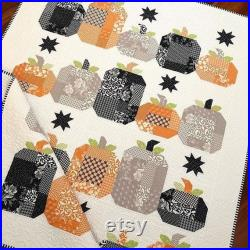 Hocus Pocus Quilt Kit, All Hallow's Eve Fabric, Pattern by The Pattern Basket, Fabric by Fig Tree Quilt, Finished Size 52 x 65 1 2