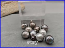 Loose Tahitian Pearls Assorted Shapes 13.8 11.8 mm Undrilled 10 Piece Lot Inexpensive Tahitian Pearls Wholesale Lot PearlExporting