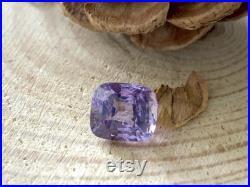 Luminous Lilac Purple Spinel Brilliant Cushion Cut 1.95 ct