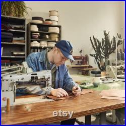 Mens Wax Canvas Premium Workshop Apron in Slate Gray ARTIFACT