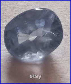 Natural Blue sapphire cut stone 4.94 carat no heat