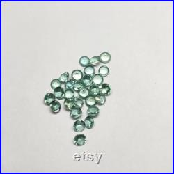 Natural Emerald Round Cut 3.50 mm Lot 4.35 Cts. 28 pcs-Loose High Lustrous Emerald Round-Wholesale Emerald Round Supply-Emerald Round Parcel