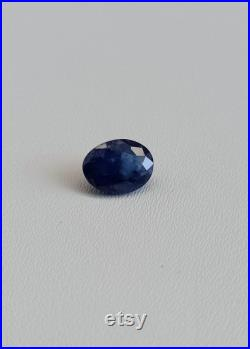 Natural Kashmir sapphire,1.10 Carat