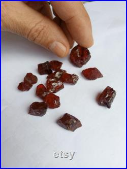 Natural Pure Red Pyrope Garnet Facet Rough Clean Various Shapes Sizes BIG PIECES Gem Top Jewelry Quality Tanzania Africa 1-8Gram 37gram LOT