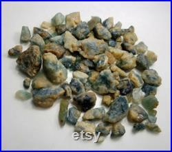 Natural Rare Grandidierite Specimens and rough lot 330 grams