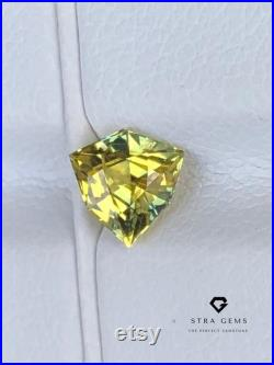 Natural Yellow Sapphire weighing 0.87 carats as Golden Yellow Sapphire. Unheated Sapphire Yellow Ring Wedding Ring and engagement rings