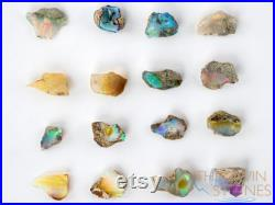 OPALS Raw Crystals Large, AA Grade, Welo Opal Rough Opal, Gemstones, October Birthstone, Jewelry Making, E0216