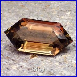 Peachy-Walnut-Green Dichroic Oregon Sunstone 14.56 Ct Flawless-Large-Rare Unique Color-From Our Pana Mine