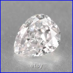 Pink Diamond 0.12 Cts Untreated Natural Color Pear Fancy Color Diamond
