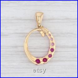 Pink Sapphire Pendant, Oval Pendant, Yellow Gold Pendant, Gemstone Pendant, Pink Gemstone Pendant, Gift for Her, Pink Pendant