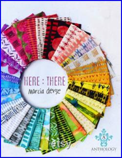 Pre-Order ,Here There Collection Fat Quarter bundle by Marcia Derse
