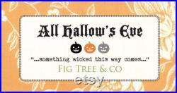 Quilt Kit HOCUS POCUS with Fig Tree's All Hallow's Eve Halloween Pumpkins Moda Pattern Basket