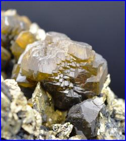 Rare Siderite and Pyrite 740 grams Siete Suyos mine, Potosi, Bolivia