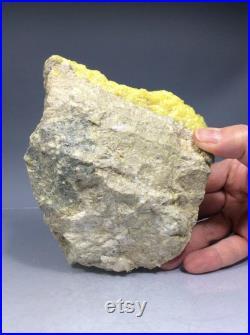SS Rocks Sulphur Crystals (Potosi, Bolivia) 1.81lbs