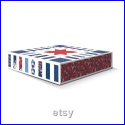 Stars in Stripe Quilt Boxed Quilt Kit