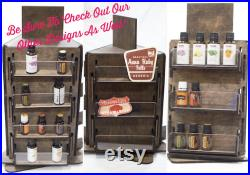 Sticker Display Rack Essential oils and More 9 Shelves
