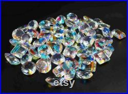Super Sale 500 gm 5 kg Wonderful AAA Top Grade Quality Mix Shape Rainbow Mystic Topaz Gemstone Lot For Making Jewelry