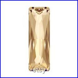 Swarovski 4547 Golden Shadow Princess Baguette Fancy Stone (15mm, 21mm, 24mm, 30mm)