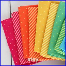 Sweet Shoppe Too 1 2 Yard Bundle, (20 pieces), Andover Fabric, Bright Basic Fabric, Low Volume Fabric