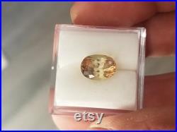 Tourmaline Padparadscha Color 2.26 Cts Loose Gemstone