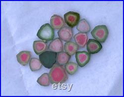 Tourmaline slice , Both Side Polished Tourmaline Slice From Afghanistan 44 Carats -